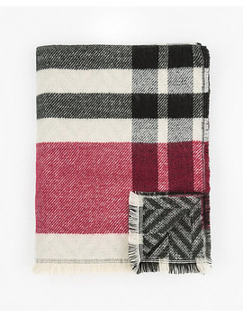 Reversible Woven Scarf by Le Chateau
