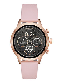 Access Unisex Runway Pink Silicone Strap Touchscreen Smart Watch 41mm by Michael Kors