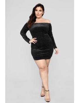 Light Up The Sky Dress   Black by Fashion Nova