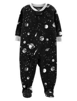 1 Piece Space Fleece P Js by Carter's