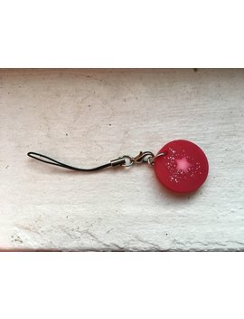 Thermal Sensitive Sparkly Pink Keychain by Etsy