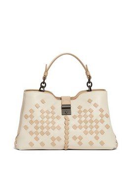 Napoli Small Intrecciato Leather Bag by Bottega Veneta