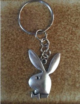Playboy Bunny Keychain by Etsy