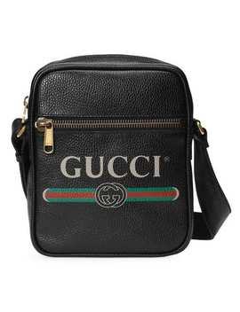 Gucci Print Messenger Bag by Gucci