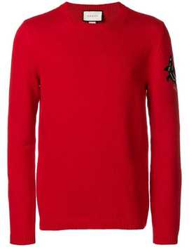Shark Sleeve Jumper by Gucci