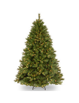 National Tree 7 .5' Winchester Pine Hinged Tree With 500 Clear Lights by National Tree Company