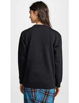 Lux Sweatshirt With Crystals by Marc Jacobs