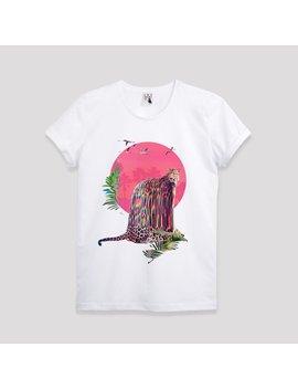 Jaguar Men's T Shirt, Animal Print Mens Graphic Tee, Animal Art Print Mens Tshirt, Glitch Animal Art T Shirt, T Shirt Birthday Gift For Him by Etsy