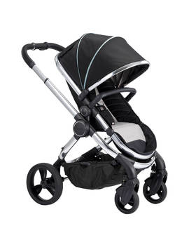 I Candy Peach Chrome Pushchair And Carrycot, Beluga by I Candy