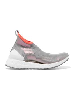 Ultra Boost X Metallic Primeknit Sneakers by Adidas By Stella Mc Cartney