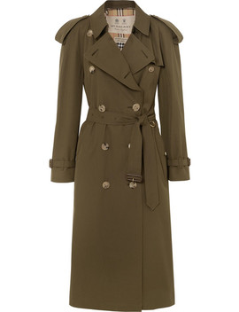 The Westminster Long Trenchcoat Aus Baumwoll Gabardine by Burberry