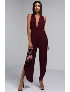 What's Your Name Jumpsuit by Akira