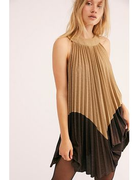 Pleated Love Mini Dress by Free People