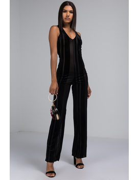 Give Me One Reason Vertical Stripe Jumpsuit by Akira
