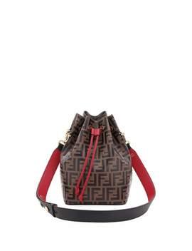 Mon Tresor Grande Ff Calf Bucket Bag by Fendi