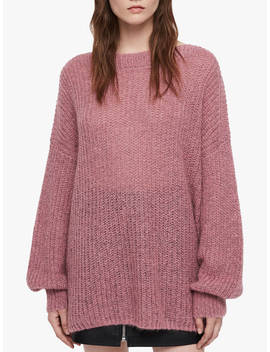 All Saints Renne Jumper, Pink Twist by All Saints