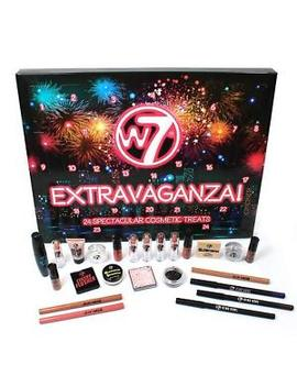 W7 Extravaganza Christmas Advent 24 Cosmetic Makeup Calendar by Ebay Seller