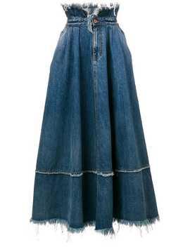 Frayed Edge Skirt by Diesel