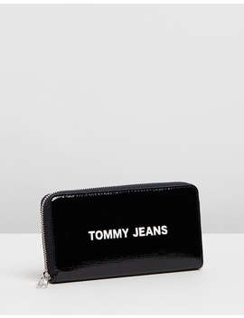 Modern Girl Large Zip Around Wallet by Tommy Jeans
