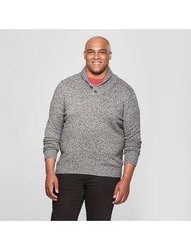 Men's Big & Tall Shawl Pullover Sweater   Goodfellow & Co™ by Goodfellow & Co