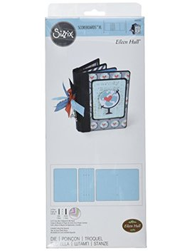 Sizzix Score Boards Die Book, Passport By Eileen Hull, X Large by Sizzix