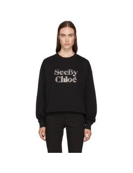 Black Logo Sweatshirt by See By ChloÉ