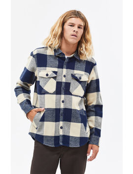 Brixton Durham Plaid Flannel Shirt by Pacsun