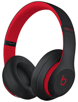 Beats Studio³  Wireless Bluetooth Over Ear Headphones With Pure Adaptive Noise Cancelling & Mic/Remote, Defiant Black/Red by Beats