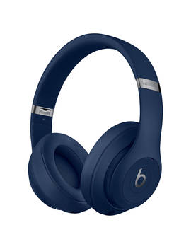 Beats Studio³  Wireless Bluetooth Over Ear Headphones With Pure Adaptive Noise Cancelling & Mic/Remote, Blue by Beats