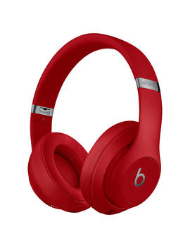 Beats Studio³  Wireless Bluetooth Over Ear Headphones With Pure Adaptive Noise Cancelling & Mic/Remote, Red by Beats