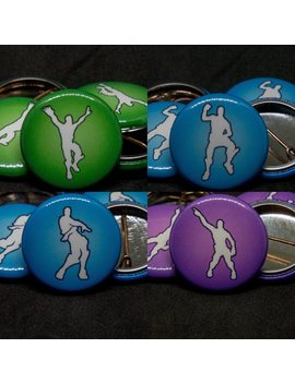 Fort Nite | Emotes | Dances |  1 Inch Button by Etsy