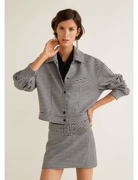 하운즈투스 재킷 by Mango