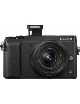 Lumix Gx85 Mirrorless Camera With G Vario 12 32mm F/3.5 5.6 Asph. Mega O.I.S Lens   Black by Panasonic