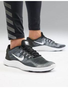 Nike Running Flex 2018 Sneakers In Black Aa7397 001 by Nike