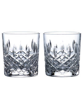 Royal Doulton R&D Collection Highclere Crystal Cut Tumblers, 290ml, Set Of 2 by Royal Doulton