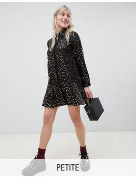 Glamorous Petite Shirt Dress In Star Print by Glamorous Petite