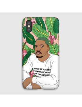 Frank Ocean Tropical I Phone Case, Ice Cream Cone Pink Blue I Phone X, 8, 7, 6, Plus, Samsung Galaxy S8, 7, 6, Edge Hip Hop Phone Case by Etsy