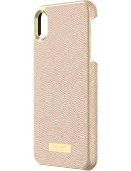 Protective Case For Apple® I Phone® Xs Max   Saffiano Rose Gold by Kate Spade New York