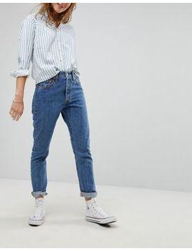Levi's – 501 – Skinny Jeans Med Hög Midja by Asos