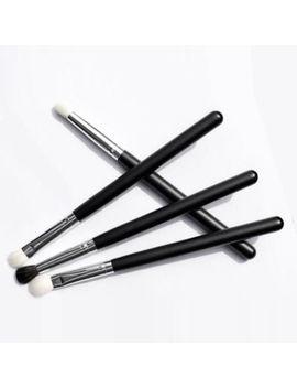 4pcs Pro Professional Eye Shadow Eyebrow Blending Brush Set Eye Make Up Brushes by Ebay Seller