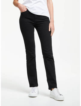 Levi's 724 High Rise Straight Jeans, Black Sheep by Levi's