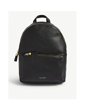 Mollyyy Leather Tassel Backpack by Ted Baker