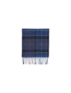 Barbour Holden Tartan Scarf, Navy by Barbour