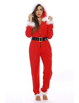 Just Love Holiday Sexy Santa Adult Onesie Pajamas by Just+Love