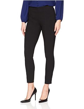 Lark & Ro Women's Slim Ankle Stretch Legging Pant: Comfort Fit by Lark+26+Ro