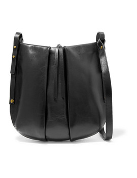 Lecky Leather Shoulder Bag by Isabel Marant
