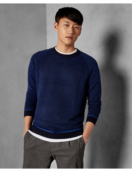 Ottoman Crew Neck Jumper by Ted Baker