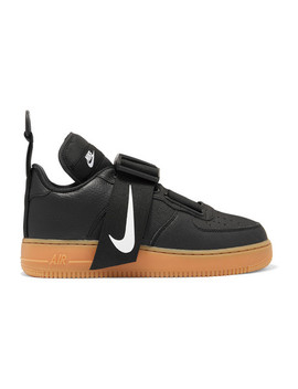 Air Force 1 Utility Piqué, Smooth And Textured Leather Sneakers by Nike