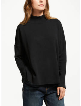 Armedangels Yuna Organic Cotton Jumper, Black by Armedangels