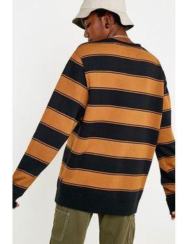 Vans Box Stripe Fleece Crew Neck Sweatshirt by Vans